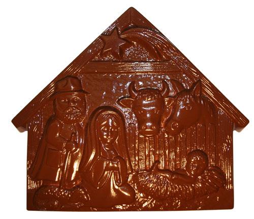 Chocolate Mould Nativity Scene