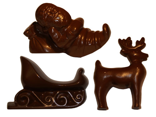 Reindeer Polycarbonate Chocolate Mould